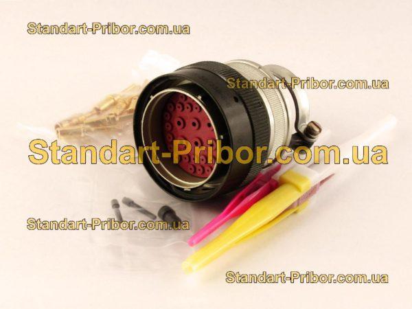 СНЦ23-32/33В-6-В без контактов вилка кабельная - фотография 1