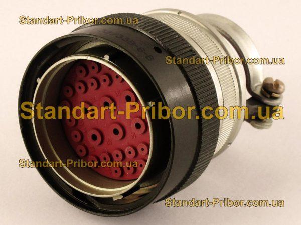 СНЦ23-32/33В-6-В без контактов вилка кабельная - изображение 2