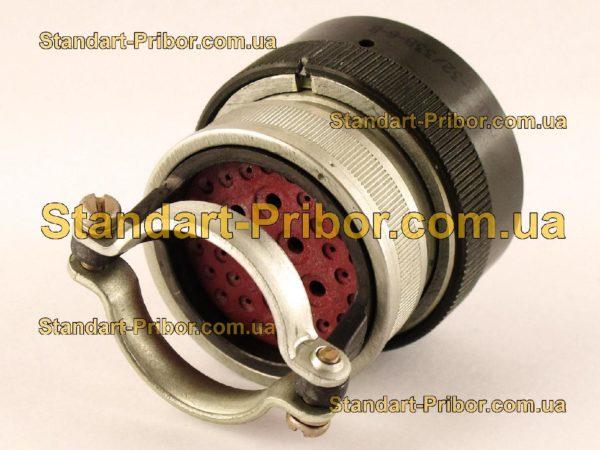 СНЦ23-32/33В-6-В без контактов вилка кабельная - фото 3