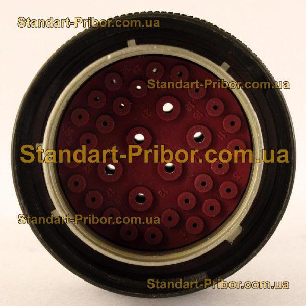 СНЦ23-32/33В-6-В без контактов вилка кабельная - фотография 4