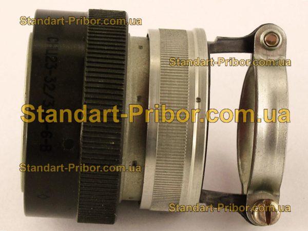 СНЦ23-32/33В-6-В без контактов вилка кабельная - изображение 5