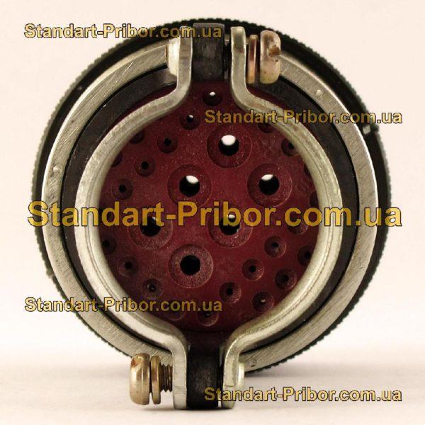 СНЦ23-32/33В-6-В без контактов вилка кабельная - фото 6