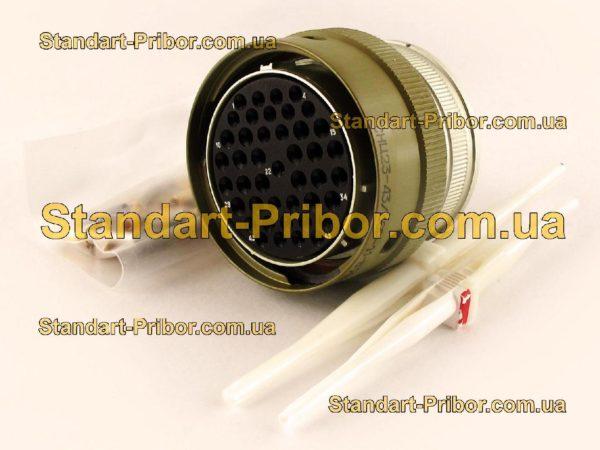 СНЦ23-43/36Р-11-В без контактов розетка кабельная - фотография 1