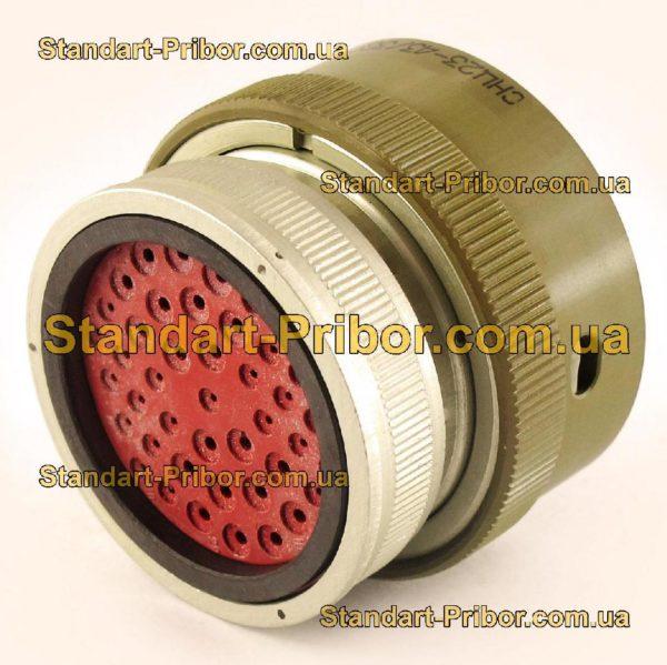 СНЦ23-43/36Р-11-В без контактов розетка кабельная - фото 3