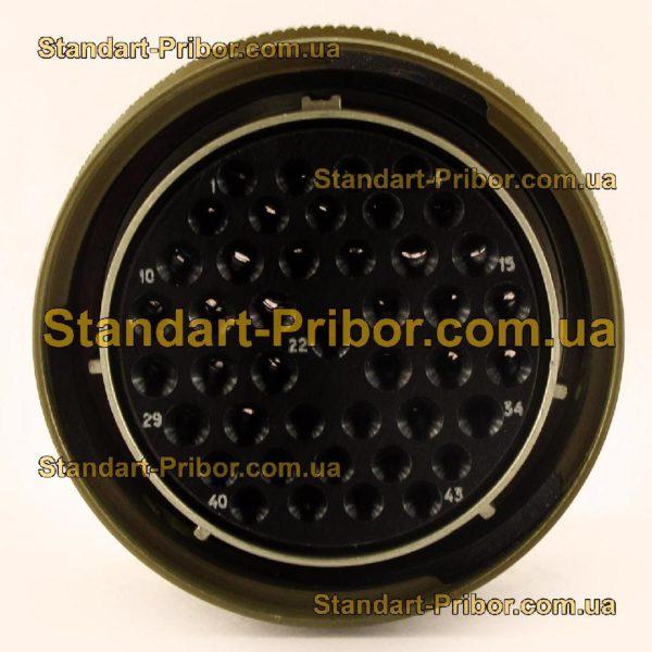 СНЦ23-43/36Р-11-В без контактов розетка кабельная - фотография 4