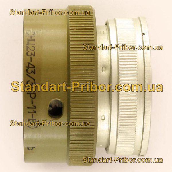 СНЦ23-43/36Р-11-В без контактов розетка кабельная - изображение 5
