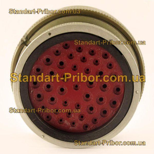 СНЦ23-43/36Р-11-В без контактов розетка кабельная - фото 6
