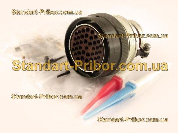 СНЦ23-43/36Р-6-Б-В без контактов розетка кабельная - фотография 1