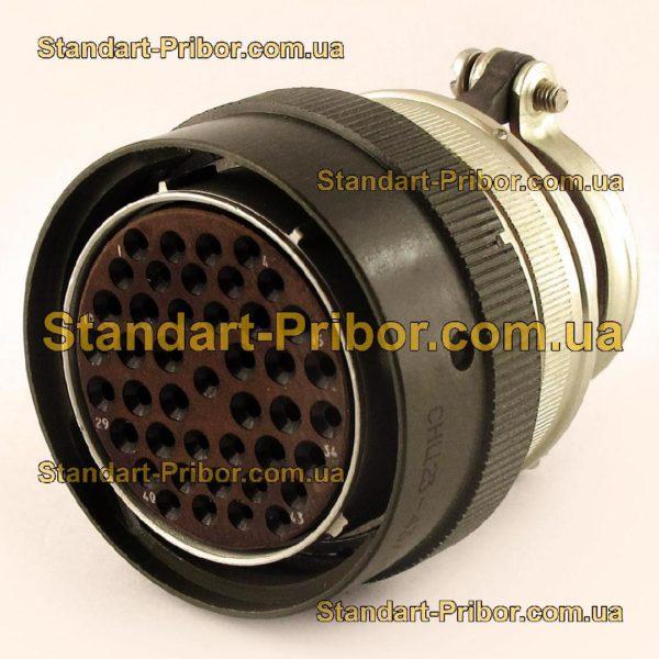 СНЦ23-43/36Р-6-Б-В без контактов розетка кабельная - изображение 2