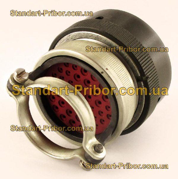 СНЦ23-43/36Р-6-Б-В без контактов розетка кабельная - фото 3
