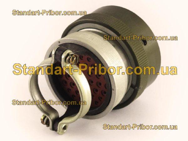 СНЦ23-43/36Р-6-В без контактов розетка кабельная - изображение 2