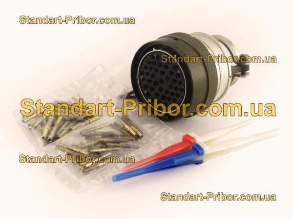СНЦ23-43/36Р-6-В без контактов розетка кабельная - фото 3