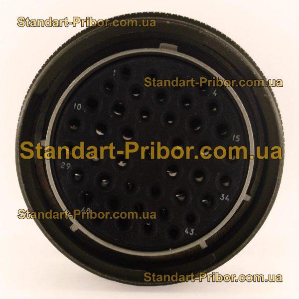 СНЦ23-43/36Р-6-В без контактов розетка кабельная - фотография 4