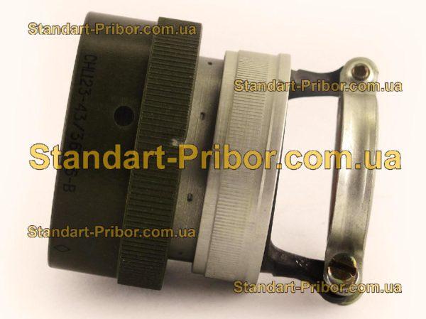 СНЦ23-43/36Р-6-В без контактов розетка кабельная - изображение 5
