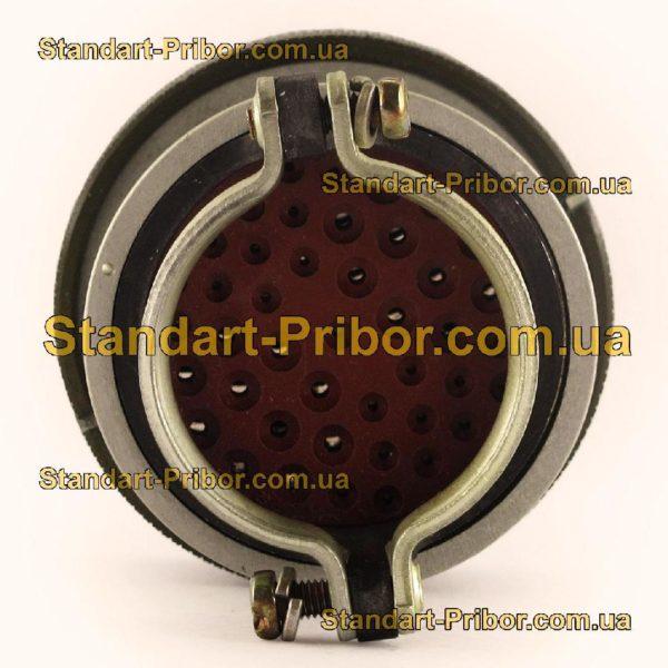 СНЦ23-43/36Р-6-В без контактов розетка кабельная - фото 6