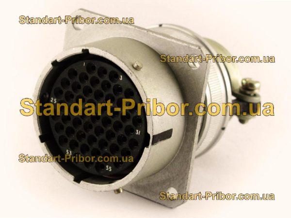 СНЦ23-55/33Р-2-б-В без контактов розетка приборная - фотография 1