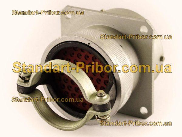 СНЦ23-55/33Р-2-б-В без контактов розетка приборная - изображение 2
