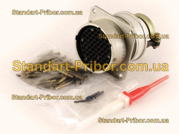 СНЦ23-55/33Р-2-б-В без контактов розетка приборная - фото 3
