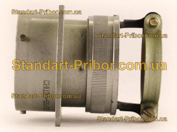 СНЦ23-55/33Р-2-б-В без контактов розетка приборная - фотография 7