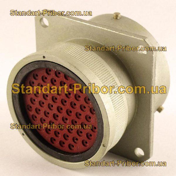 СНЦ23-55/33В-1-В без контактов вилка приборная - изображение 2