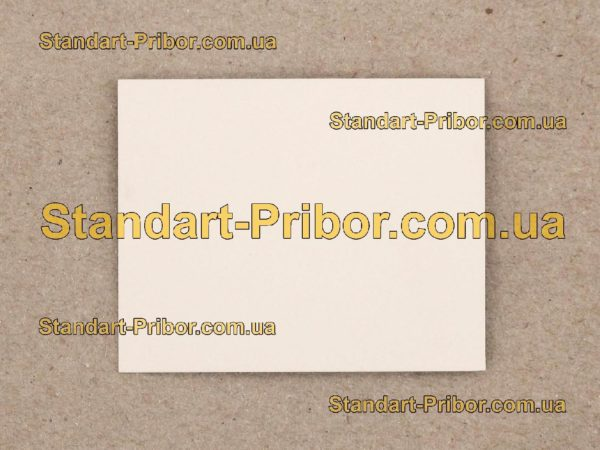 СТ-50-1-1-0.55 подложка ситалловая - фотография 1