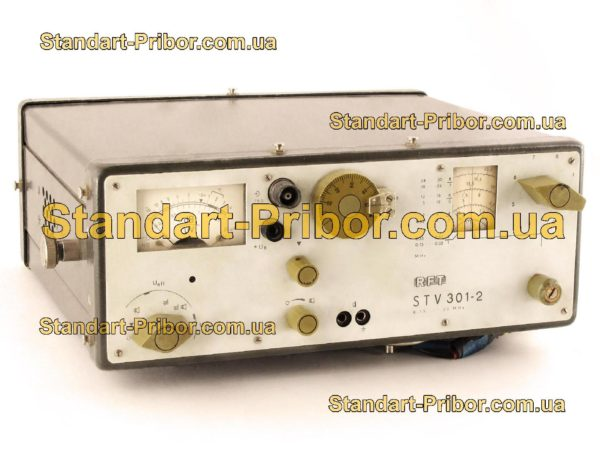 STV 301-2 микровольтметр селективный - фотография 1