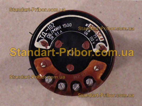 ТД-102 тахогенератор постоянного тока - фотография 1