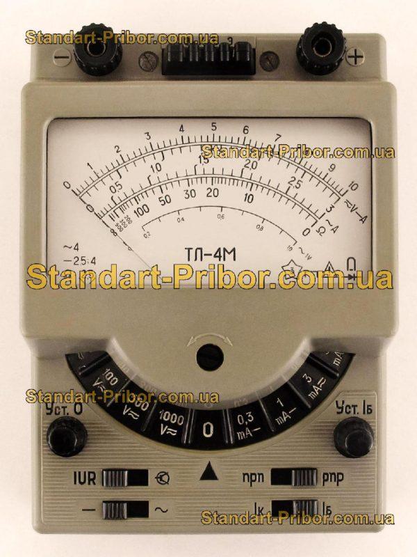 ТЛ-4М тестер, прибор комбинированный - изображение 2