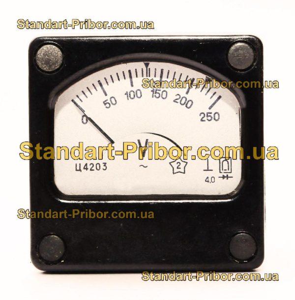 Ц4203 вольтметр - фотография 1