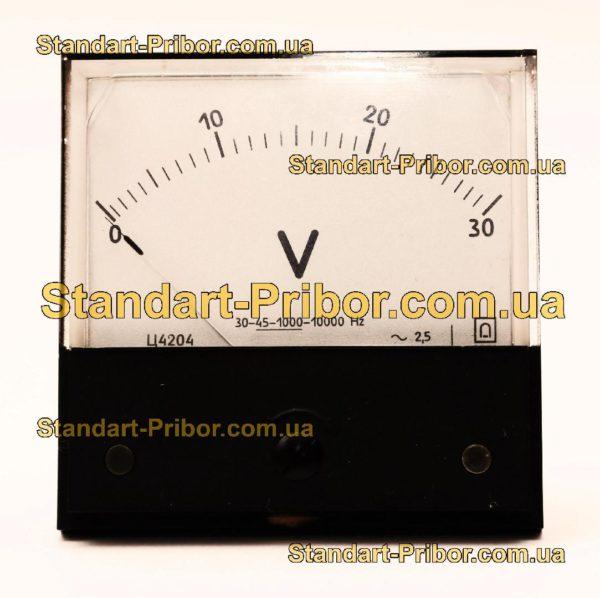 Ц4204 вольтметр - фотография 1