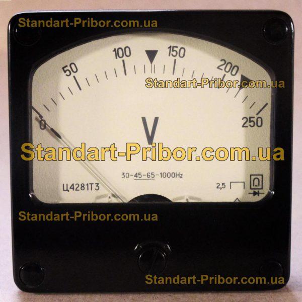 Ц4281 вольтметр - изображение 2