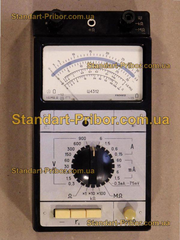 Ц4312 тестер, прибор комбинированный - изображение 2