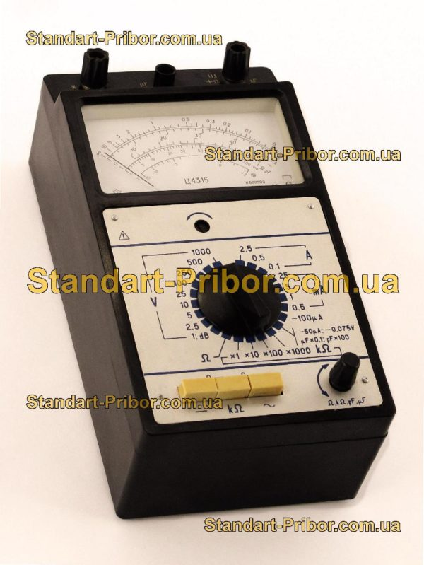 Ц4315 тестер, прибор комбинированный - фотография 1