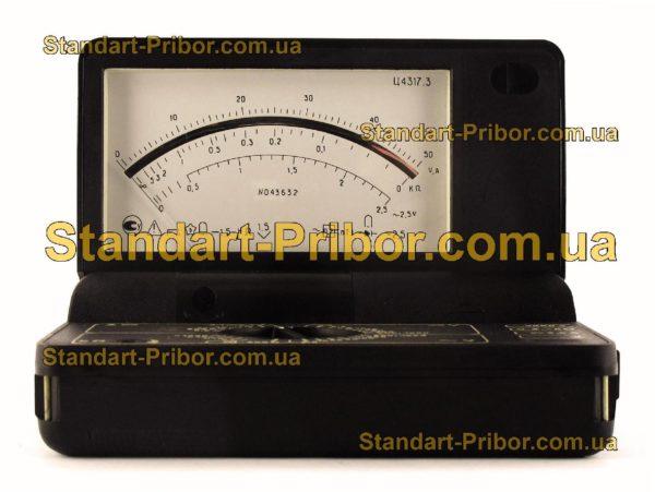 Ц4317.3 тестер, прибор комбинированный - изображение 2