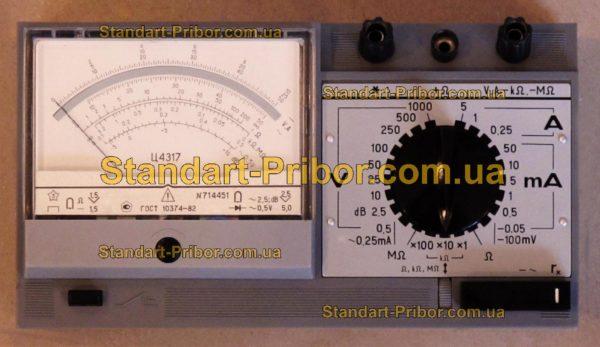 Ц4317 тестер, прибор комбинированный - фото 3