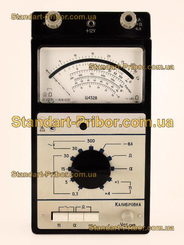 Ц4328 тестер, прибор комбинированный - изображение 2