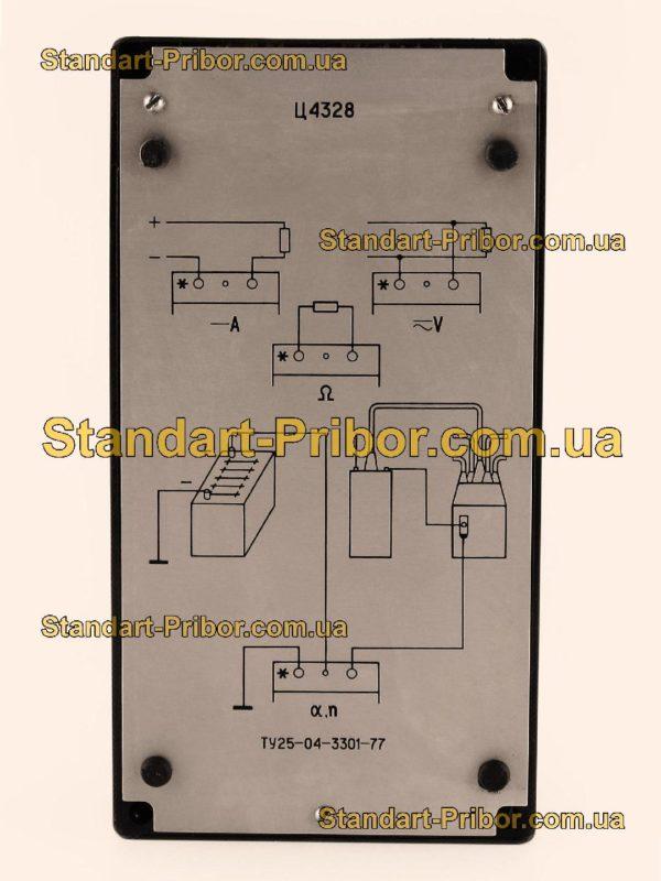 Ц4328 тестер, прибор комбинированный - фото 6
