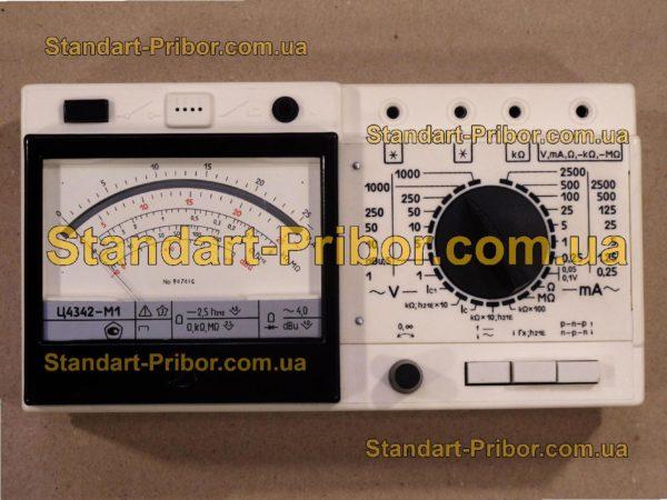 Ц4342-М1 тестер, прибор комбинированный - изображение 2