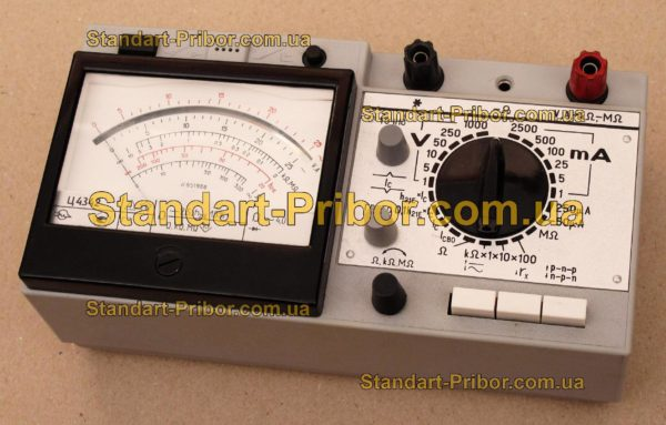 Ц4342 тестер, прибор комбинированный - фото 3