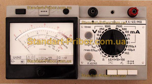 Ц4342 тестер, прибор комбинированный - фотография 4