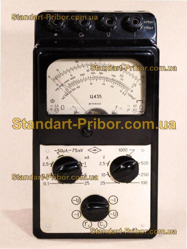 Ц435 тестер, прибор комбинированный - изображение 2