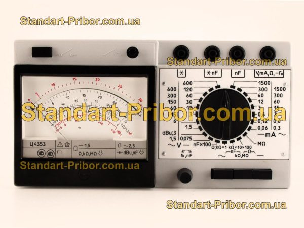 Ц4353 тестер, прибор комбинированный - фотография 4