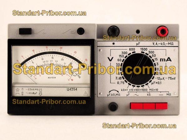 Ц4354 тестер, прибор комбинированный - изображение 2