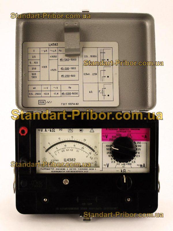 Ц4382 тестер, прибор комбинированный - изображение 2