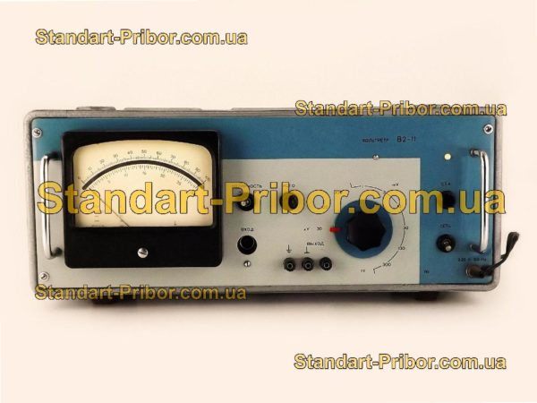 В2-11 вольтметр постоянного тока - изображение 2