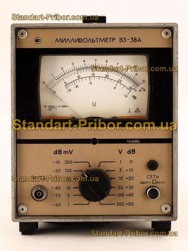 В3-38А вольтметр переменного тока - изображение 2