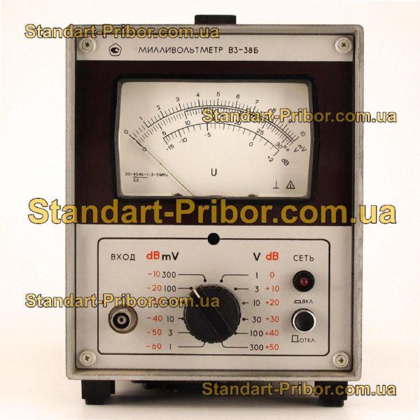 В3-38Б вольтметр переменного тока - изображение 2