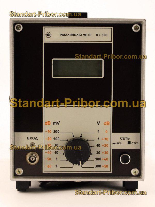 В3-38В вольтметр переменного тока - изображение 2