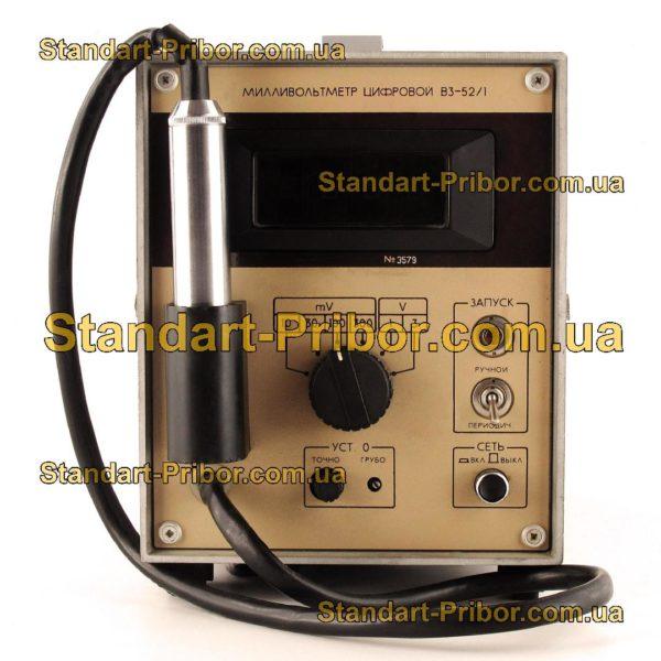 В3-52/1 вольтметр переменного тока - изображение 2