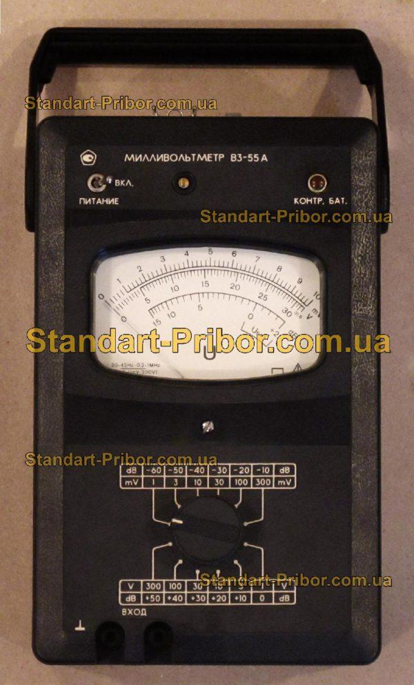 В3-55А вольтметр переменного тока - изображение 2